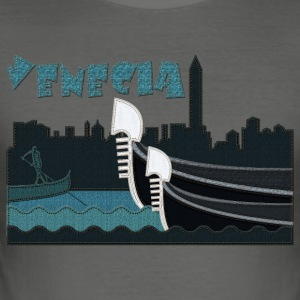 Venice in jeans - Men's Slim Fit T-Shirt
