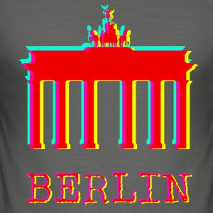 Berlijn - Brandenburger Tor - slim fit T-shirt