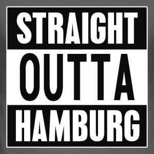 Straight outta Hamburg - Männer Slim Fit T-Shirt