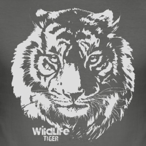 Wildlife · Tiger - Tee shirt près du corps Homme