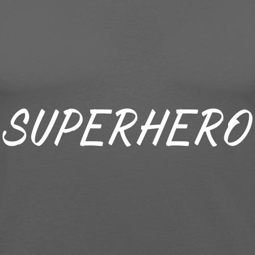 SUPERHERO - Männer Slim Fit T-Shirt