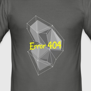 fel 404 - Slim Fit T-shirt herr