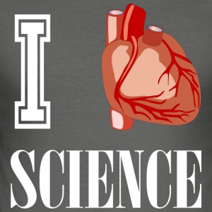 I love science! - Männer Slim Fit T-Shirt