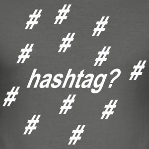 hashtag BobboStyle - Men's Slim Fit T-Shirt