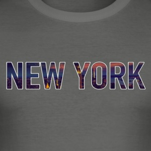 New York - Männer Slim Fit T-Shirt