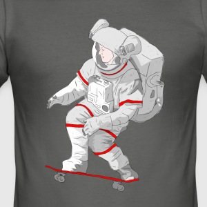 Astro Skater - Men's Slim Fit T-Shirt