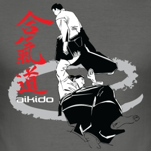 Martial arts Aikido - Men's Slim Fit T-Shirt
