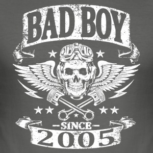 Bad boy since 2005 - Tee shirt près du corps Homme