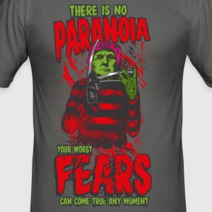 There is no paranoia - Men's Slim Fit T-Shirt