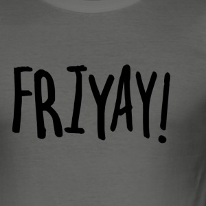 FRIYAY - Slim Fit T-shirt herr