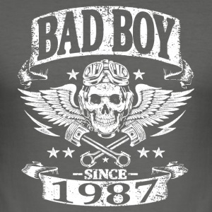 Bad boy since 1987 - Tee shirt près du corps Homme