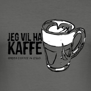 Coffee in Oslo - slim fit T-shirt