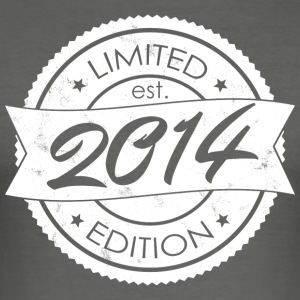 Limited Edition est 2014 - Slim Fit T-skjorte for menn