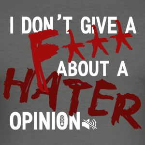 hater - Slim Fit T-shirt herr
