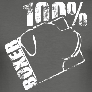 BOXER 100 - Männer Slim Fit T-Shirt
