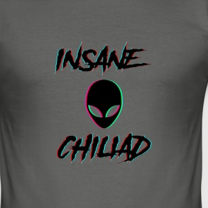 Insane Chiliad Work # 1 - Slim Fit T-shirt herr