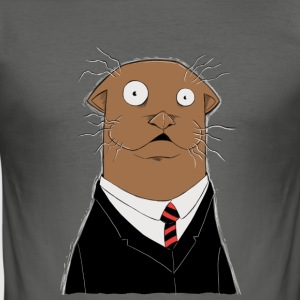 Office Otter - slim fit T-shirt