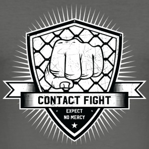 Contact Fight Vintage - slim fit T-shirt