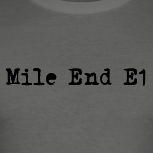 Mile End - Slim Fit T-shirt herr