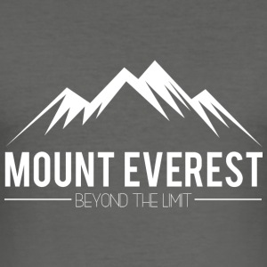 Everest Beyond the Limit - Men's Slim Fit T-Shirt