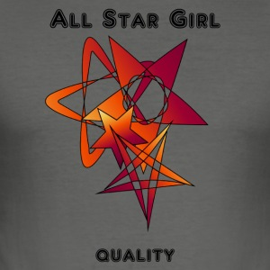 all_stargirl - slim fit T-shirt