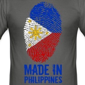 Made In Filippinene / Filippinene / Pilipinas - Slim Fit T-skjorte for menn