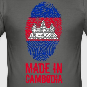 Made In Cambodia / Kambodscha - Männer Slim Fit T-Shirt