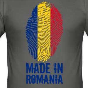 Made in Romania / Gemacht in Rumänien România - Männer Slim Fit T-Shirt