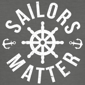 Sailors Matter - Slim Fit T-shirt herr