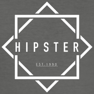 HIPSTER EST. 1990 - Slim Fit T-skjorte for menn