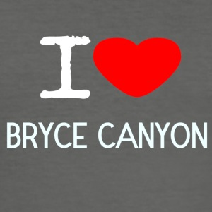 I LOVE Bryce Canyon - Herre Slim Fit T-Shirt