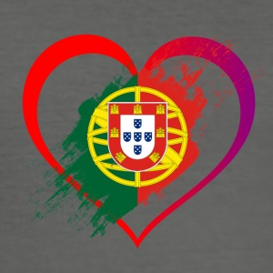 I LOVE PORTUGAL COLLECTION - Men's Slim Fit T-Shirt
