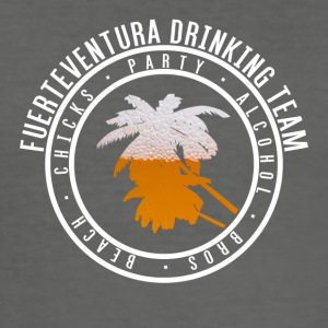 Tröja part semester - Fuerteventura - Slim Fit T-shirt herr