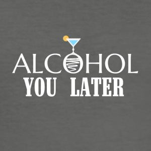 alcohol - slim fit T-shirt