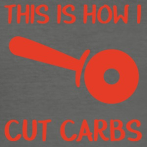 Feuerwehr: This is how i cut carbs - Männer Slim Fit T-Shirt