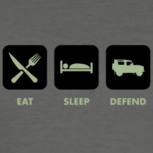 Eat, Sleep & Defend - Men's Slim Fit T-Shirt