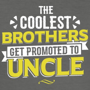 COOLEST BROTHERS GET PROMOTED TO UNCLE - Men's Slim Fit T-Shirt