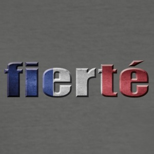 Fierté FRANKRIKE PRIDE FRANCE - Slim Fit T-skjorte for menn