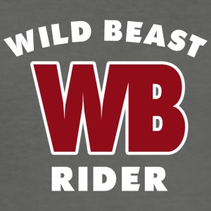 WILDBEAST RIDER - Men's Slim Fit T-Shirt