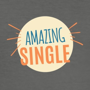 Single: Amazing Single - Männer Slim Fit T-Shirt