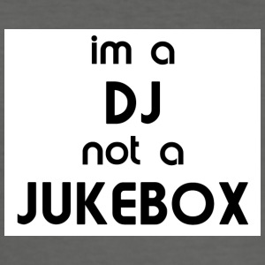 dj_jukebox - Slim Fit T-shirt herr