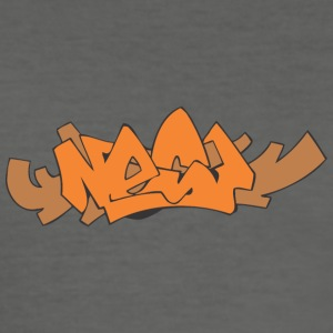 nær graffiti - Herre Slim Fit T-Shirt