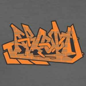 taror Graffiti - Männer Slim Fit T-Shirt