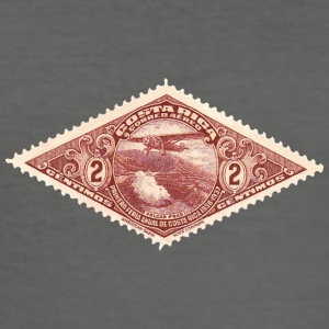 Stamp - Costa Rica - Men's Slim Fit T-Shirt