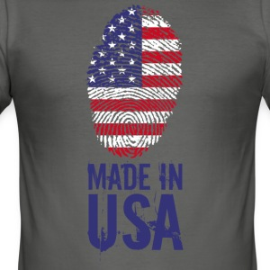Made in USA / Made in USA Amérique - Tee shirt près du corps Homme