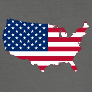 USA - Men's Slim Fit T-Shirt