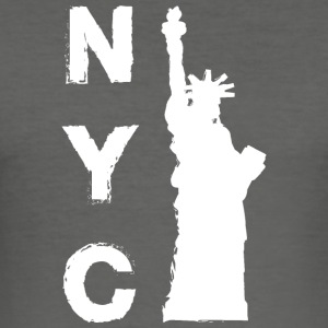 New York City - Tee shirt près du corps Homme