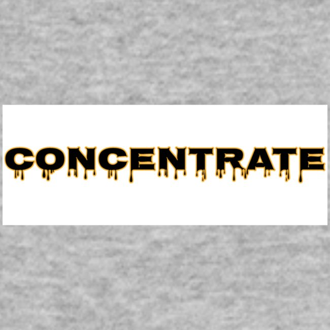 Concentrate on white