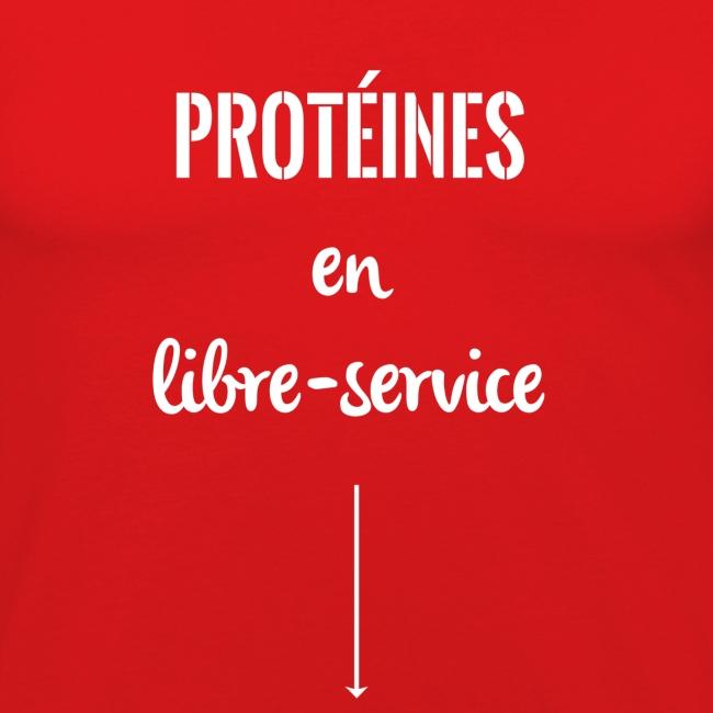 proteines libre service