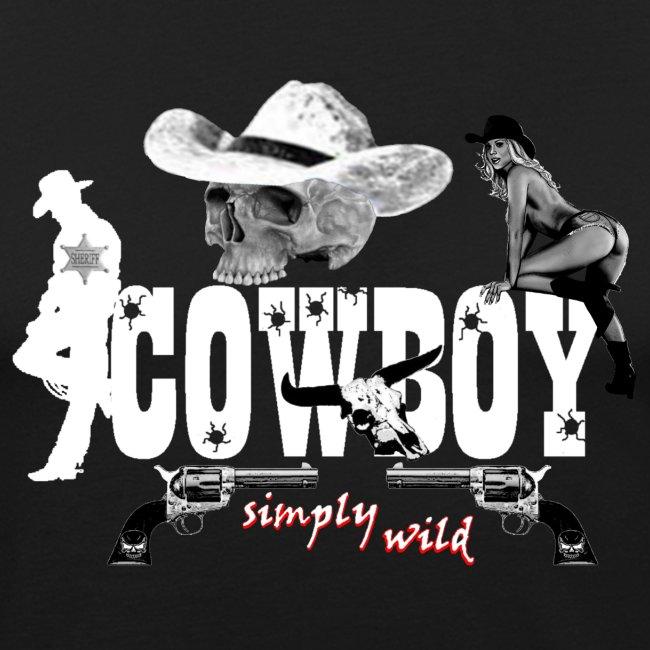 simplywild Cowboy on black